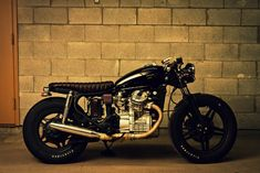 What're you lookin' at? Honda CX500 Cafe Brat by Jonathan Forget and Alexandre Bordeleau.