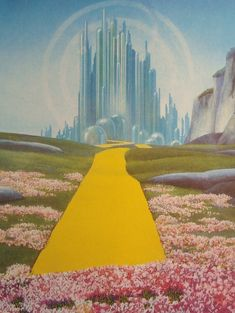 The Emerald City fromThe Wizard of Oz Original Print by iowajewel