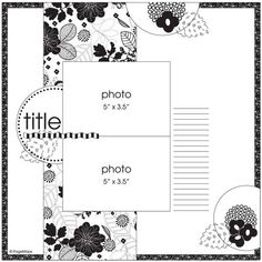 ScrapBook Ideas this really highlights the party look of the bg pp Scrapbook Layout Sketches, Scrapbook Templates, Card Sketches, Scrapbook Paper Crafts, Scrapbook Supplies, Scrapbooking Layouts, Scrapbook Cards, Scrapbook Photos, Map Sketch