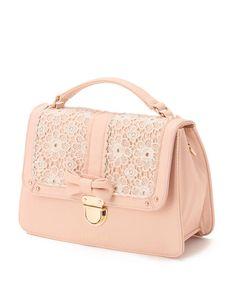 Liz Lisa pink and lace purse