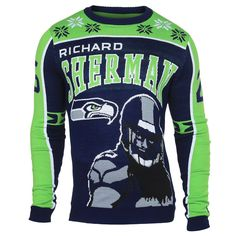 Seattle Seahawks 2015 Richard Sherman #25 Big Logo Ugly Sweater Sizes S-XXL w/ Priority Shipping - https://crowdz.io/product/seattle-seahawks-2015-richard-sherman-25-big-logo-ugly-sweater-sizes-s-xxl-w-priority-shipping/?pid=KMDW2R39JYVE6D3&sendroll_email=%3C%3CEmail%20Address%3E%3E&utm_campaign=coschedule&utm_source=pinterest&utm_medium=Crowdz