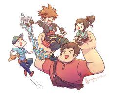 Kingdom Hearts   A New World