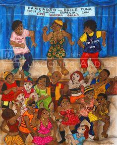 Vanice Ayres Leite - Baile Funk - 65x50