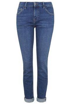 MOTO Clean Blue Lucas Slim Boyfriend Jeans - Topshop