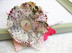 https://flic.kr/p/dao6QA | Fabric flower headband 2
