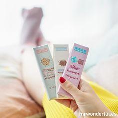 Pack de 3 chocolatinas para un bombón. Porque tú vales mucho y te comes el mundo con tu sonrisa, bombón. #mrwonderfulshop