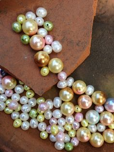 Pearl Beads Destash by 4DogCafe on Etsy, $2.00