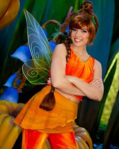 Fawn © The Magic Kingdom, Walt Disney World Tinkerbell And Friends, Peter Pan And Tinkerbell, Disney Fairies, Tinkerbell Disney, Disney Cosplay, Disney Costumes, Halloween Fun, Halloween Costumes, Cosplay Costumes