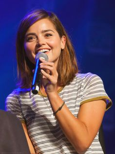 Jenna Coleman during her Panel at Salt Lake Comic Con - 25th September 2015