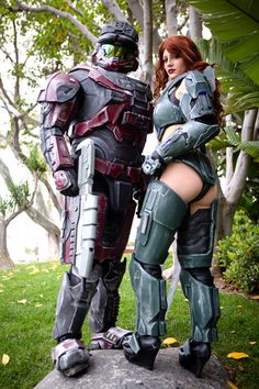 Amazing Halo #cosplayers at #Comic-Con. #costume