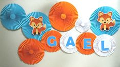 Baby Boy 1st Birthday Party, Birthday Diy, Theme Bapteme, Little Prince Party, Fox Party, Class Decoration, Diy Crafts For Kids, Baby Shower Decorations, First Birthdays