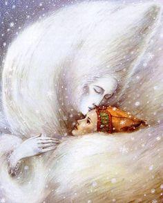 The Snow Queen - Illustration by Angela Barrett
