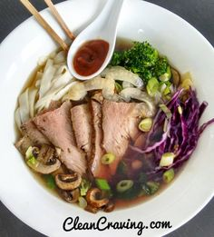 Another #lunch from the week #synfree mushroom and beef broth with seared Beef shaved fennel broccoli red cabbage and tofu #shirataki noodles only 30 cals 6g carbs for the whole packet I love these noodles when cutting back on carbs  (0.5) for Sriracha  #slimmingworld #slimmingworldusa #slimmingworldjourney #slimmingworldfollowers #food #foodie #fitness #fitfam #thebodycoach #beef #noodles #lowcarbs #cleancraving #cleaneating  #clean #eatclean #lean #igmeals #delicious #bbg #hungry #sogood…