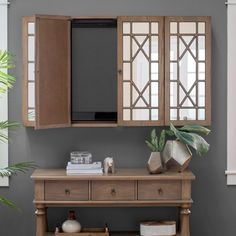Belham Living Florence TV Wall Cabinet - The Belham Living Florence TV Wall Cabi. Living Room Remodel Before and After - Diy Home Decor Crafts Hanging Tv On Wall, Wall Mounted Tv, Tv Escondida, Tv Wall Mount Installation, Tv Wall Cabinets, Wall Mount Tv Cabinet, Tv Covers, Hidden Tv, Tv Furniture