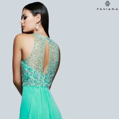 Faviana style S7560; for the woman who wants to make just as big of an exit as an entrance. http://www.faviana.com/catalog/dress-s7560