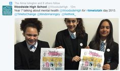 Woodside High School supporting Time to Talk High School, Grammar School, High Schools, Secondary School, Middle School