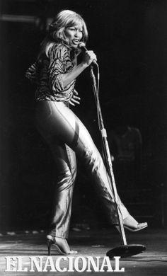 Tina Turner en el Poliedro de Caracas. 09 de septiembre de 1979 (TOM GRILLO / ARCHIVO EL NACIONAL)