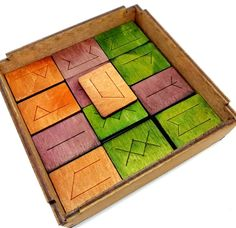 Rök Wooden Board Game Wooden Board Games, Balanced Rock, Logic Games, The Game Is Over, The Chosen One, Adult Games, Runes, Games To Play, Unique Gifts