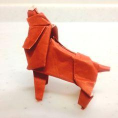 origami Dog - American cocker spaniel