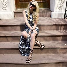 16 Different Ways to Get Leggy in a Slitted Skirt: So, you say you want a slitted skirt?