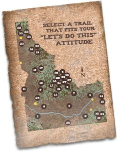 Idaho ATV trail riding. Best sight to find you adventure!