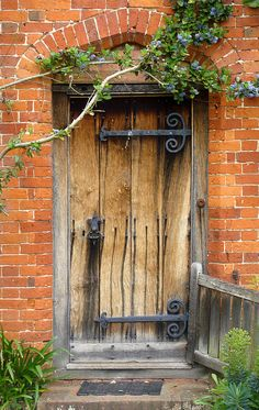 Packwood house door,England