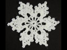 The Best Collection of Crochet Snowflakes Free patterns of wonderful snowflakes to crochet, to ...