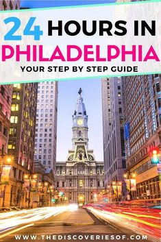 Philadelphia, Pennsylvania is one of our favourite cities in the USA. Check out our insider's guide to things to do in Philadelphia when you're short on travel time. Read now. Food I City I Skyline #travel #usa