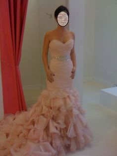 Blush Pink Wedding Dresses | My Dress! : wedding blush maggie sottero divina pink Dress