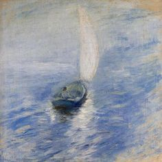 Sailing in the Mist by John Henry Twatchman