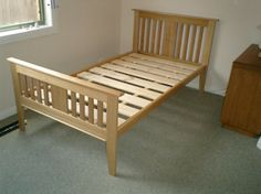 Simple Bedroom With Single Bed design idea of building simple wooden bed frame; on your own