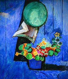 Henri Matisse - Flowers and Ceramic Plate, 1913