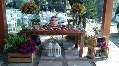 Mesa de doces. #violetadecorações