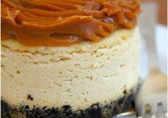 Cheesecake de doce de leite com base de biscoito | Gastrolândia – por Ailin Aleixo