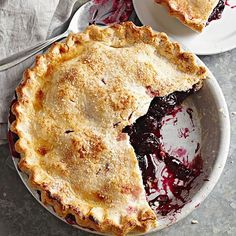 Freezer Sweet Cherry Pie Filling ~ This ready-when-you-are cherry pie filling puts canned cherries to shame. Fresh dark sweet cherries dot the fruity dessert essential made thick by quick-cooking tapioca, cornstarch, and a squeeze of lemon juice.