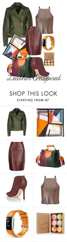 """Leather Inspired"" by katerina-lyubimova on Polyvore featuring мода, Y.A.S, Faliero Sarti, Reiss, Halston Heritage и Miss Selfridge"