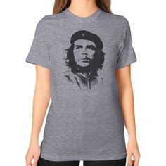Che Guevara Unisex T-Shirt (on woman)