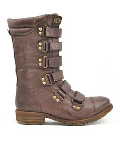 Look what I found on #zulily! Brown Cullen Boot by VOLATILE #zulilyfinds
