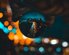 A night time highway in the city that never sleeps. New York, USA. Lensball photography by imjonathanclarke