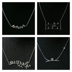 It's a bird,  it's a plane,  certainly it's not Superman! Just bird necklaces! ☺