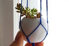 Cool DIY Tiny Clay Pots                                                                                                                                                     More
