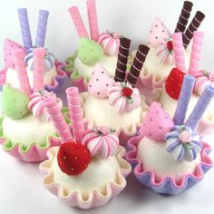 Favor for a little girl's birthday party!