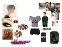 """Punk Buttercup"" by xxcashby-squidgyxx ❤ liked on Polyvore featuring M:UK and MANGO"