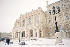 Odessa Opera House in Odessa Oblast, Ukraine. Photo by Aleksey Kunitskiy.