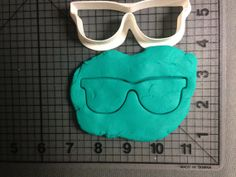 Sunglasses Cookie Cutter by JBCookieCutters on Etsy, $5.50