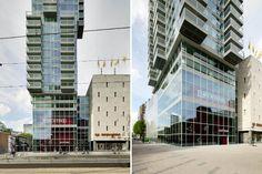 B Tower, Wiel Arets Architects, rotterdam