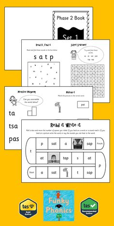 Activities Read It, Find It (page 2) - find the sound or sounds in the box. Match it (page 3) - read the word and match it to the correct picture Read It Write It (pages 4 &5) - mini board game where if they land on a word they read it. Land on a picture they write the word or say the sounds in the word. Monster Mayhem (page 6) - jumbled up words for the sound with boxes for support. Super Searcher (page 7) - find 10 or less given words that contain the sound.