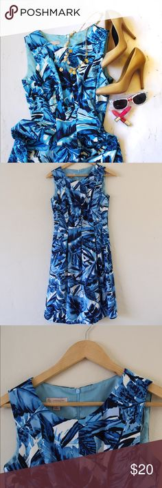 Fit and Flare Dress from Dress Barn Fun fit and flare dress that hits at the knee. Poly material. In excellent used condition 🍍Have questions? Feel free to ask 💙 Dress Barn Dresses Midi