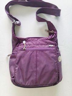eBags Piazza Day Bag PURPLE Cross-Body OR Shoulder Bag Travel Bag  Free USA Ship #eBags #CrossBodyBags