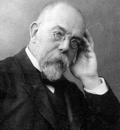 Dr. Robert Koch ~ 1843 - 1910 Nobel prize winner in medicine 1905 ~ for his investigations and discoveries in relation to tuberculosis.